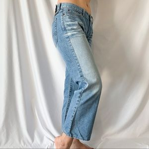 Lucky Brand Dungarees Ankle Cropped Jeans Size 6